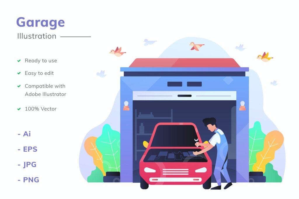 diseño gráfico publicitario en ilustración