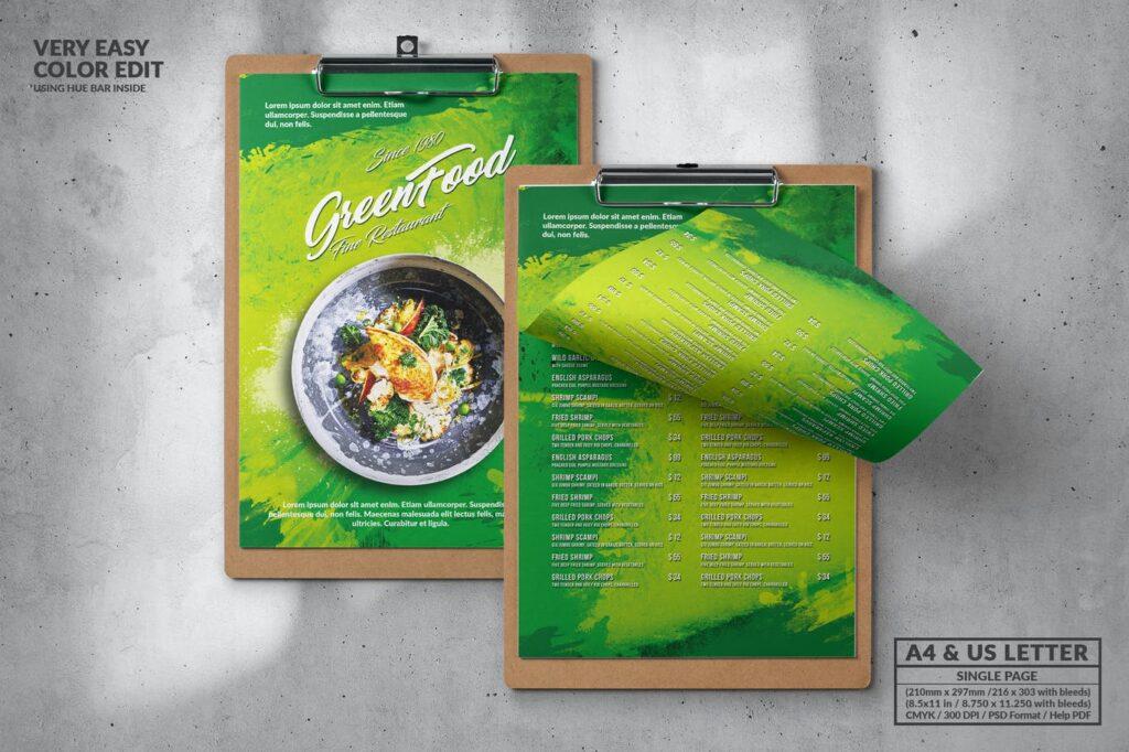 el color verde en la publicidad