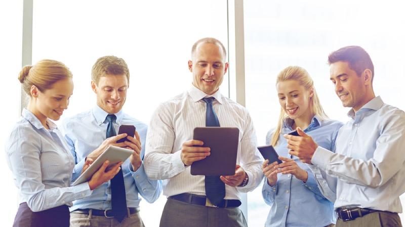 Aplicaciones móviles para empresa