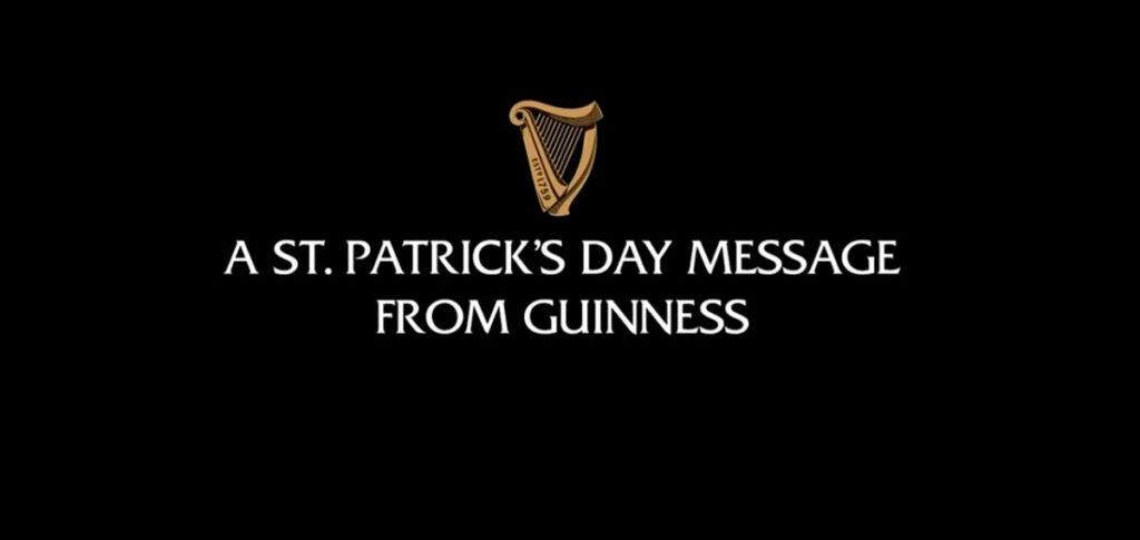 Campaña de Guinness contra coronavirus