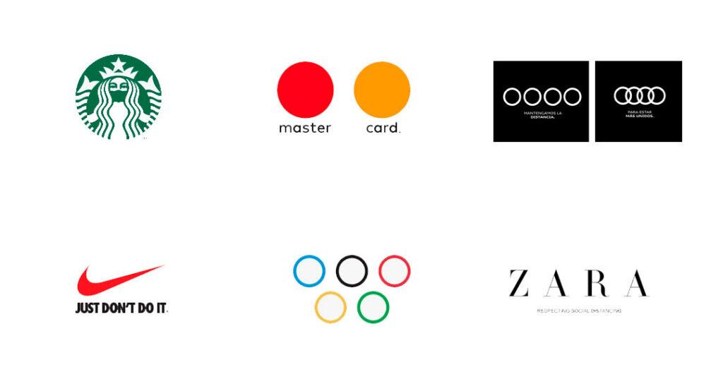logos covid