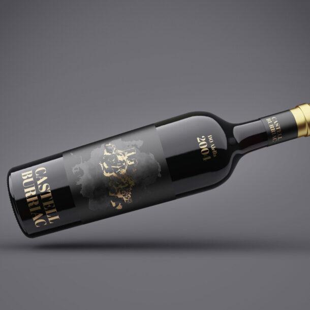 diseño gráfico para vino